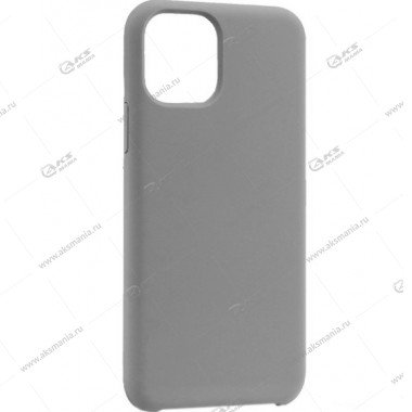 Silicone Case (Soft Touch) для iPhone 11 Pro Max серый