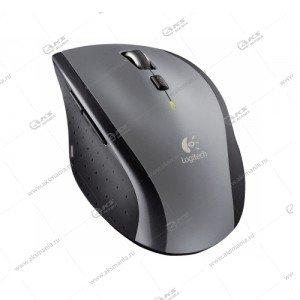 Мышь беспроводная Logitech M705 лазерная, серебристый/черный