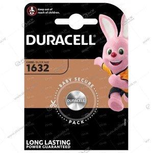 Элемент питания Duracell CR1632/1BL