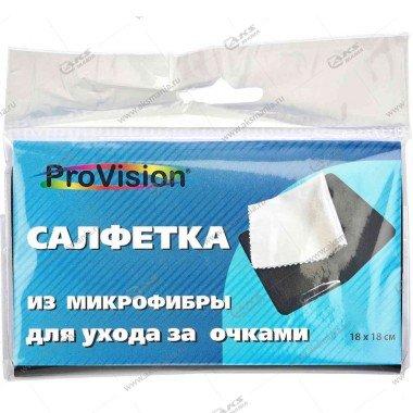 Cалфетка-микрофибра Perfeo ProVision ухода за оптикой, 18*18 см (PV281427)