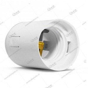 Патрон пластиковый, подвесной E27, белый, термостойкий пластик (SBE-LHP-s-E27)