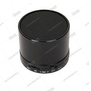 Колонка портативная  S-10 BT TF USB черный