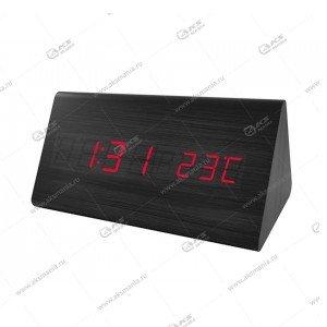 Часы Perfeo Pyramid PF-S710T черный/ красный