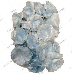 """Гирлянда """"Цветы"""" большие силиконовый провод голубые"""