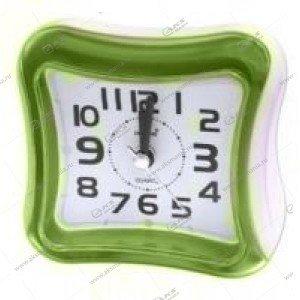 Часы 3019 будильник зелёный