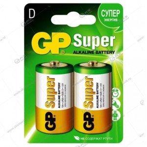 Элемент питания GP LR20/2BL Super