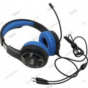 Наушники Smartbuy SBHG-8300 Rush Mace, Игровые, Гибкий микрофон синий