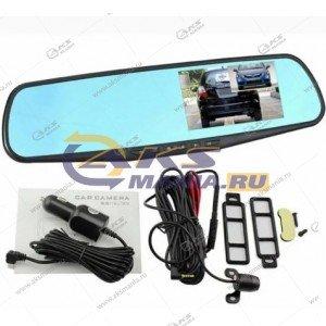 Зеркало-видеорегистратор Vehicle Blackbox с задней камерой L803