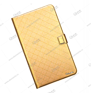 Чехол для планшета ShiJiaJing на силиконе 7.0 золотой