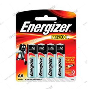 Элемент питания Energizer AA LR6 Max/4BL