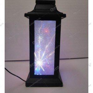 Декоративный фонарь с эффектом 3D Снежинки