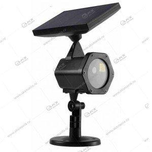 Лазерный проектор Jin-XL711 аккумулятор+солнечная батарея, с датчиком света, уличный