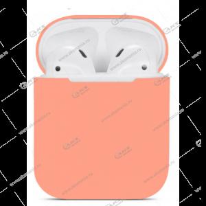 Силиконовый чехол для Airpods 2 New Peach