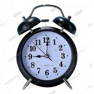 Часы 6025 будильник Quartz 13см