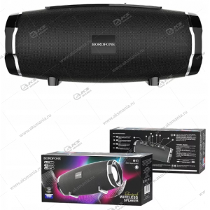 Колонка портативная Borofone BR3 Rich sound sports черный