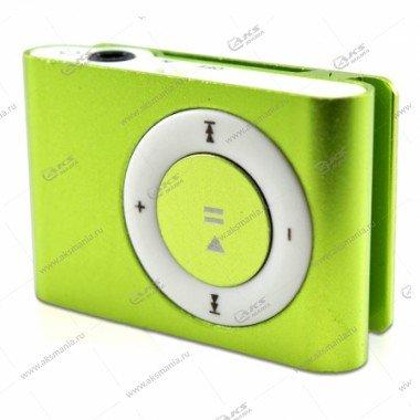 MP3-плеер клипса зеленый