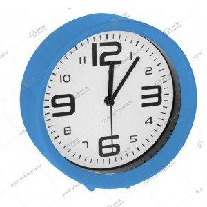Часы 1002 будильник голубой