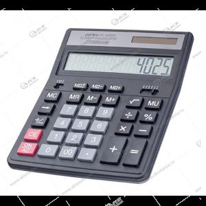 Калькулятор Perfeo PF_A4025, бухгалтерский, 12-разр., черный