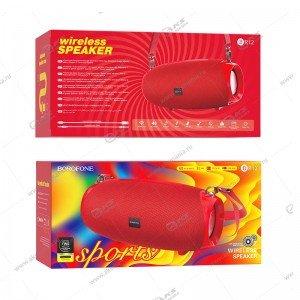 Колонка портативная Borofone BR12 Amplio sports красный