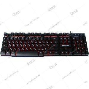 Клавиатура KGK-15U Dialog Gan-Kata - игровая с подсветкой, USB, чёрная