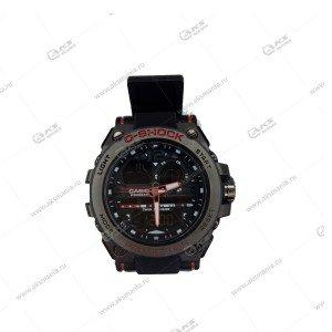 Наручные часы C-Shock в коробке черные с красным