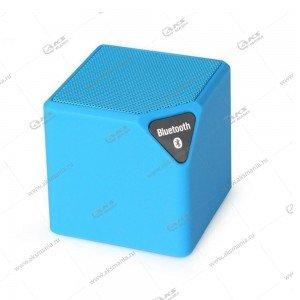 Колонка портативная  MINI-X3 BT FM TF USB голубой