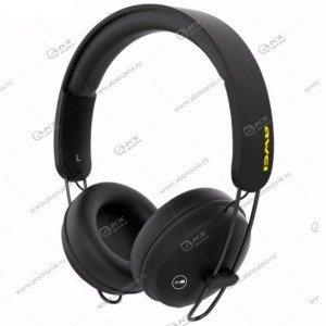 Наушники Bluetooth Awei A800BL Накладные черные