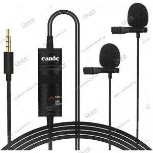 Микрофон Candc DC-C2 2 Mic для камер и телефонов