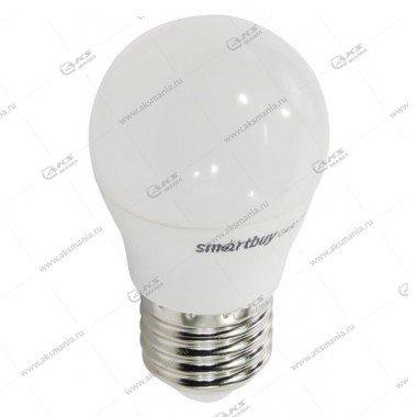 Лампа светодиодная Smartbuy G45-12W-220V-4000K-E27 (нейтральный свет)