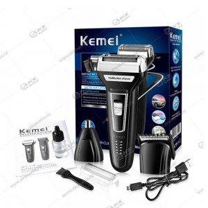 Машинка для стрижки волос 3в1 Kemei KM-6559