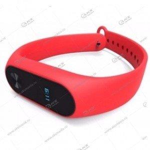 Ремешок на Mi Band 2 красный