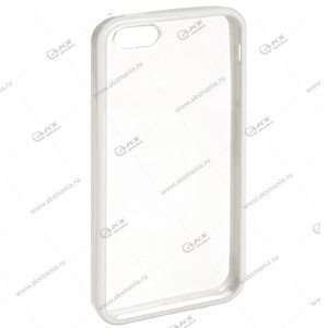 Пластик Samsung S4/i9500 прозрач с белым