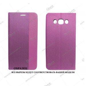 Книга горизонтальная Huawei Honor 10 фиолетовый D-Case