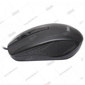 Мышь проводная Dialog MOP-04BU black