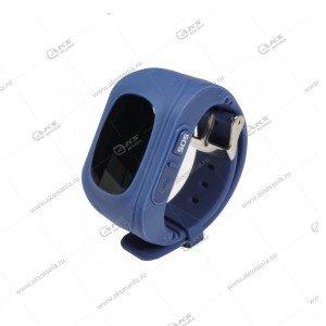 Часы детские Q50 GPS, Будильник, Шагомер синий