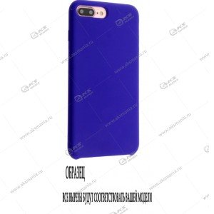 Silicone Case (Soft Touch) для iPhone XR ярко-синий