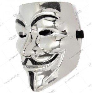 "Маска ""Vendetta"" серебро"
