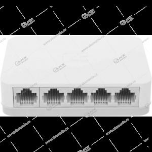 Неуправляемый коммутатор  RE-505, 5портов до 100 Мбит/c, 1 Гбит/c