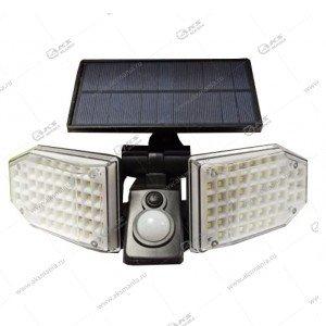Автономный уличный светодиодный светильник GY-1497/JD-2101 с датчиком движения