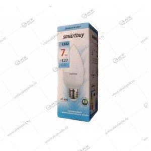 Лампа светодиодная Smartbuy C37-12W-220V-4000K-E27 (нейтральный свет)