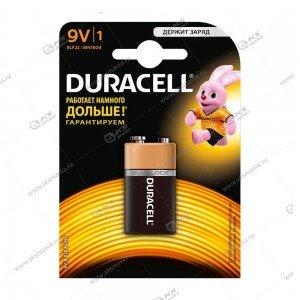 Элемент питания Duracell 6LR61/1BL (крона)