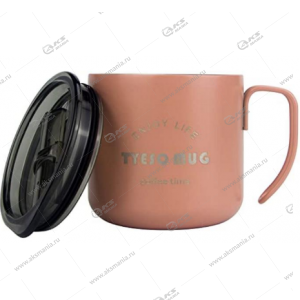 Термокружка TCM-128 350мл розовый