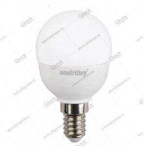 Лампа светодиодная Smartbuy P45-9,5W-3000K-E14 (глоб, теплый свет)