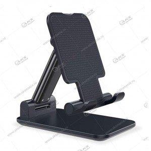 Держатель-подставка для телефонов P-27 черный
