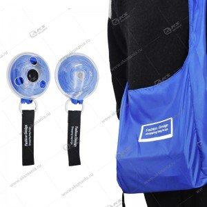 Сумка ультратонкая складная для шоппинга синяя