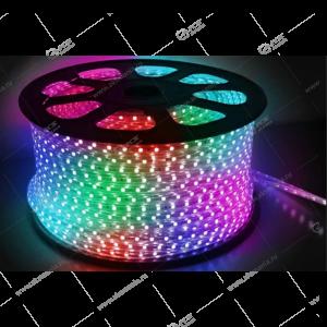 Дюралайт LED прямоугольного сечения 2-х проводной, бухта 100м RGB (цена за 1м)