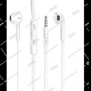 Наушники Borofone BM36 Acura с микрофоном белые