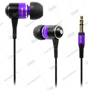 Наушники AWEI ES-Q3 purple