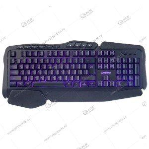 Клавиатура Perfeo STRIKE с подсветкой PF_A4390 черный
