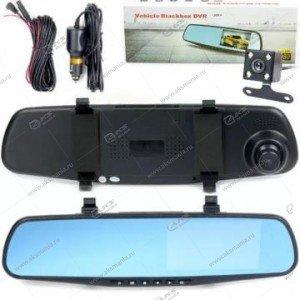 Зеркало-видеорегистратор Vehicle Blackbox с задней камерой L9000-2